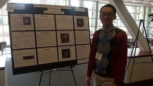 Bohan Lu at Undergrad Research Symposium